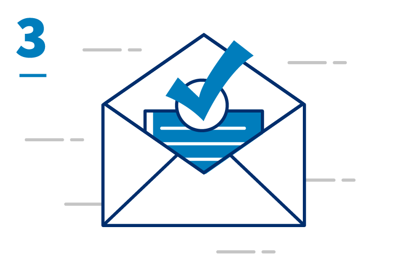 Application and envelope