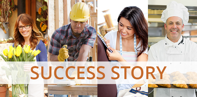 SBA helps pave the road to success for...